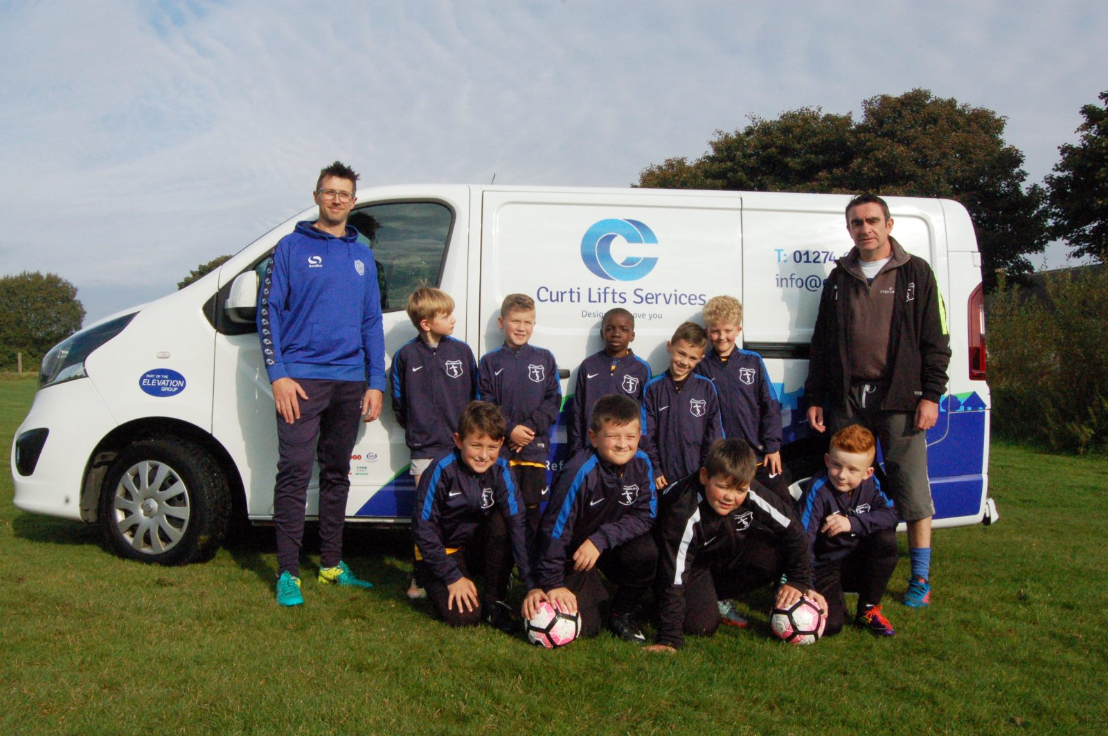 Proud to be supporting St Columba's JFC Community Football Club, in