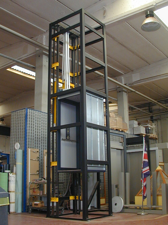 Curti Steel Lift Structures - Curti Lifts